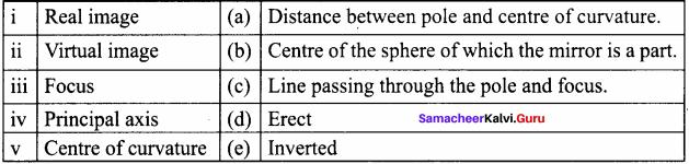 8th Standard Light Lesson Question Answer Samacheer Kalvi Term 1 Chapter 3