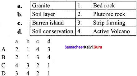 Rock And Soil Class 8 Samacheer Kalvi Science Geography Solutions Term 1 Chapter 1