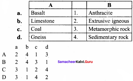 Rocks And Soils 8th Standard Samacheer Kalvi Science Geography Solutions Term 1 Chapter 1 Rock And Soil