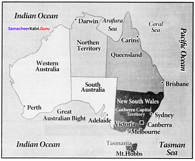 Samacheer Kalvi 8th Social Science Geography Term 3 Chapter 2 Exploring Continents (Africa, Australia and Antarctica) img-5