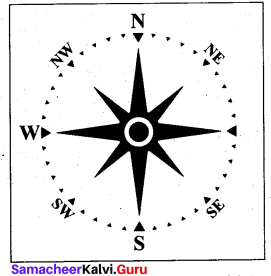 9th Social Map Science Geography Solutions Chapter 7 Mapping Skills Samacheer Kalvi
