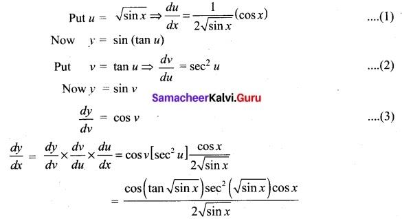 Tamil Nadu 11th Maths Model Question Paper 3 English Medium 32