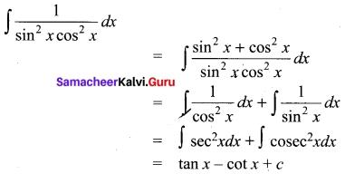 Tamil Nadu 11th Maths Model Question Paper 3 English Medium 7