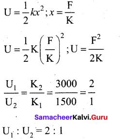 Tamil Nadu 11th Physics Model Question Paper 1 5
