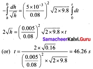 Tamil Nadu 11th Physics Model Question Paper 3 English Medium 8