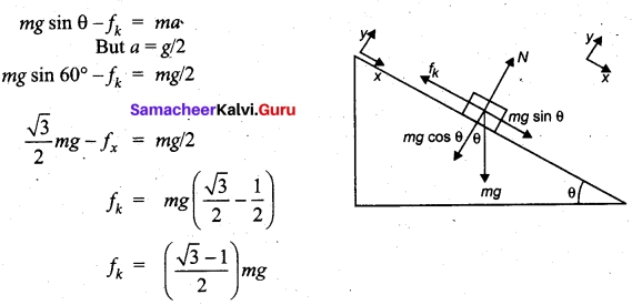 Tamil Nadu 11th Physics Model Question Paper 5 English Medium 7