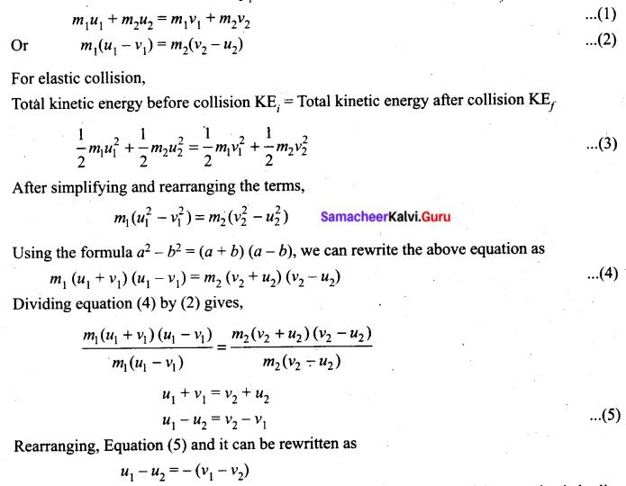 Tamil Nadu 11th Physics Previous Year Question Paper March 2019 English Medium Q 24