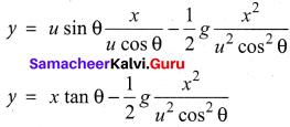 Samacheer Kalvi 11th Physics Guide Pdf Chapter 2 Kinematics