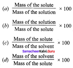 10th Science Solution Samacheer Kalvi Solutions Chapter 9 Solutions