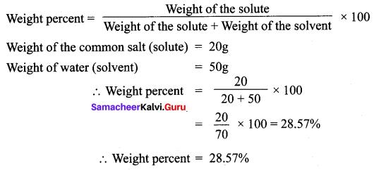 10th Std Science Solutions Samacheer Kalvi Chapter 9 Solutions
