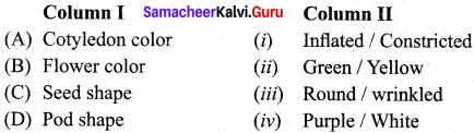 Samacheer Kalvi 12th Bio Botany Solutions Chapter 2 Classical Genetics img 4