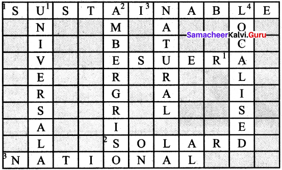 Samacheer Kalvi 6th Social Guide Science Geography Solutions Term 2 Chapter 1 Resources
