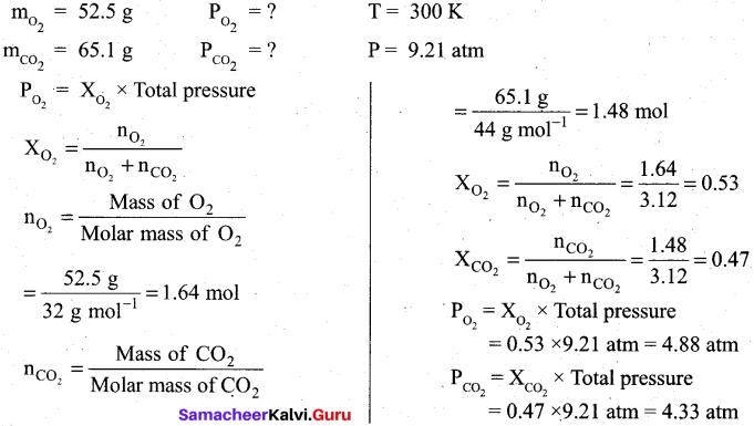Tamil Nadu 11th Chemistry Model Question Paper 1 English Medium image - 10