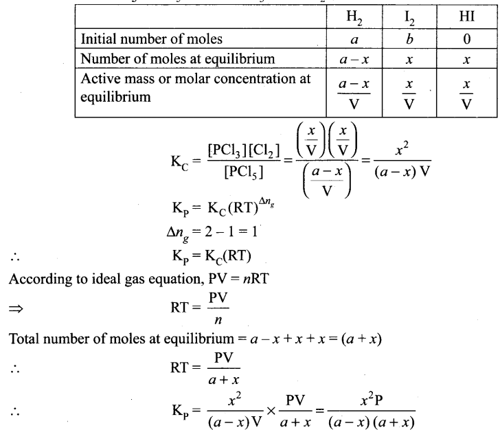 Samacheer Kalvi 11th Chemistry Notes Chapter 8 Physical and Chemical Equilibrium Notes 3