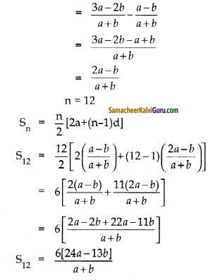 Samacheer Kalvi 10th Maths Guide Chapter 2 எண்களும் தொடர்வரிசைகளும் Ex 2.6 5