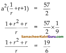 Samacheer Kalvi 10th Maths Guide Chapter 2 எண்களும் தொடர்வரிசைகளும் Ex 2.7 11