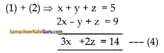 Samacheer Kalvi 10th Maths Guide Chapter 3 இயற்கணிதம் Ex 3.1 1