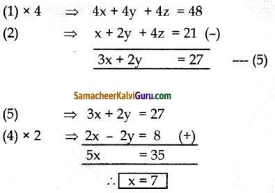 Samacheer Kalvi 10th Maths Guide Chapter 3 இயற்கணிதம் Ex 3.1 15