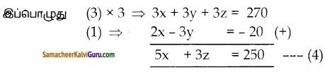 Samacheer Kalvi 10th Maths Guide Chapter 3 இயற்கணிதம் Ex 3.1 4