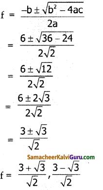 Samacheer Kalvi 10th Maths Guide Chapter 3 இயற்கணிதம் Ex 3.11 3