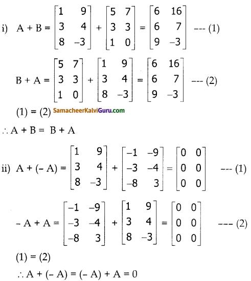 Samacheer Kalvi 10th Maths Guide Chapter 3 இயற்கணிதம் Ex 3.18 1