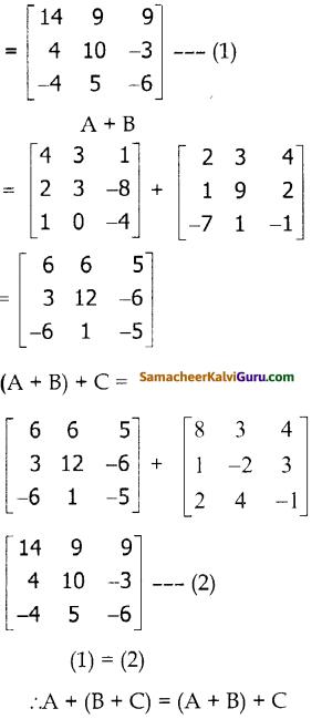 Samacheer Kalvi 10th Maths Guide Chapter 3 இயற்கணிதம் Ex 3.18 3