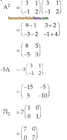 Samacheer Kalvi 10th Maths Guide Chapter 3 இயற்கணிதம் Ex 3.19 19