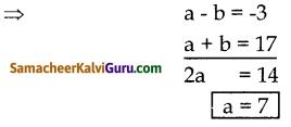 Samacheer Kalvi 10th Maths Guide Chapter 3 இயற்கணிதம் Ex 3.19 3