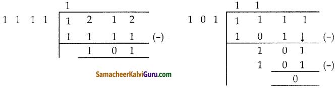 Samacheer Kalvi 10th Maths Guide Chapter 3 இயற்கணிதம் Ex 3.2 6