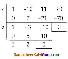 Samacheer Kalvi 10th Maths Guide Chapter 3 இயற்கணிதம் Ex 3.3 3