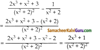 Samacheer Kalvi 10th Maths Guide Chapter 3 இயற்கணிதம் Ex 3.6 4