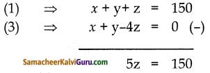 Samacheer Kalvi 10th Maths Guide Chapter 3 இயற்கணிதம் Unit Exercise 3 3