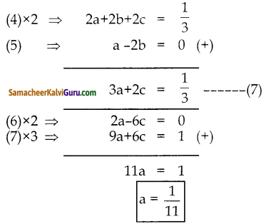 Samacheer Kalvi 10th Maths Guide Chapter 3 இயற்கணிதம் Unit Exercise 3 9