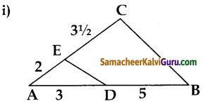 Samacheer Kalvi 10th Maths Guide Chapter 4 வடிவியல் Ex 4.1 1