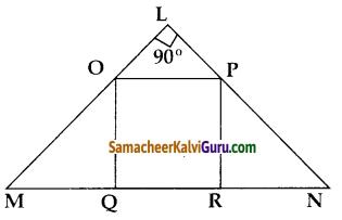 Samacheer Kalvi 10th Maths Guide Chapter 4 வடிவியல் Ex 4.1 10