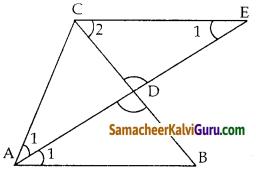 Samacheer Kalvi 10th Maths Guide Chapter 4 வடிவியல் Ex 4.1 21