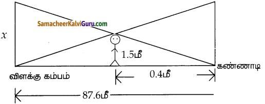 Samacheer Kalvi 10th Maths Guide Chapter 4 வடிவியல் Ex 4.1 4