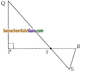 Samacheer Kalvi 10th Maths Guide Chapter 4 வடிவியல் Ex 4.1 6