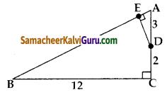 Samacheer Kalvi 10th Maths Guide Chapter 4 வடிவியல் Ex 4.1 7