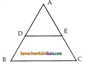 Samacheer Kalvi 10th Maths Guide Chapter 4 வடிவியல் Ex 4.2 1