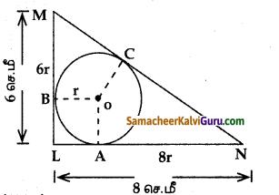 Samacheer Kalvi 10th Maths Guide Chapter 4 வடிவியல் Ex 4.4 2