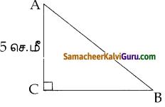 Samacheer Kalvi 10th Maths Guide Chapter 4 வடிவியல் Ex 4.5 1