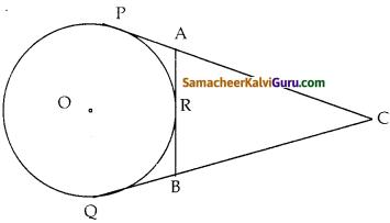 Samacheer Kalvi 10th Maths Guide Chapter 4 வடிவியல் Ex 4.5 7