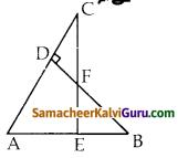 Samacheer Kalvi 10th Maths Guide Chapter 4 வடிவியல் Unit Exercise 4 1