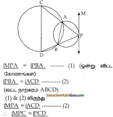 Samacheer Kalvi 10th Maths Guide Chapter 4 வடிவியல் Unit Exercise 4 14