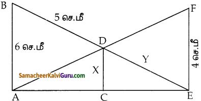 Samacheer Kalvi 10th Maths Guide Chapter 4 வடிவியல் Unit Exercise 4 2