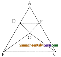 Samacheer Kalvi 10th Maths Guide Chapter 4 வடிவியல் Unit Exercise 4 6