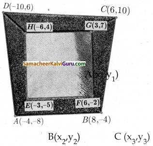 Samacheer Kalvi 10th Maths Guide Chapter 5 ஆயத்தொலை வடிவியல் Ex 5.1 18