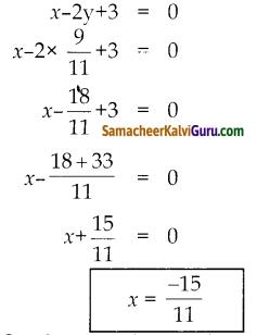 Samacheer Kalvi 10th Maths Guide Chapter 5 ஆயத்தொலை வடிவியல் Ex 5.4 14