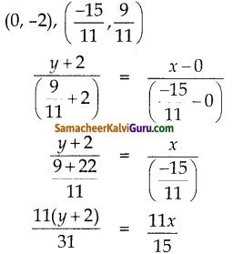 Samacheer Kalvi 10th Maths Guide Chapter 5 ஆயத்தொலை வடிவியல் Ex 5.4 15